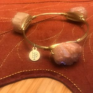 Bourbon and bowtie bangle bracelet